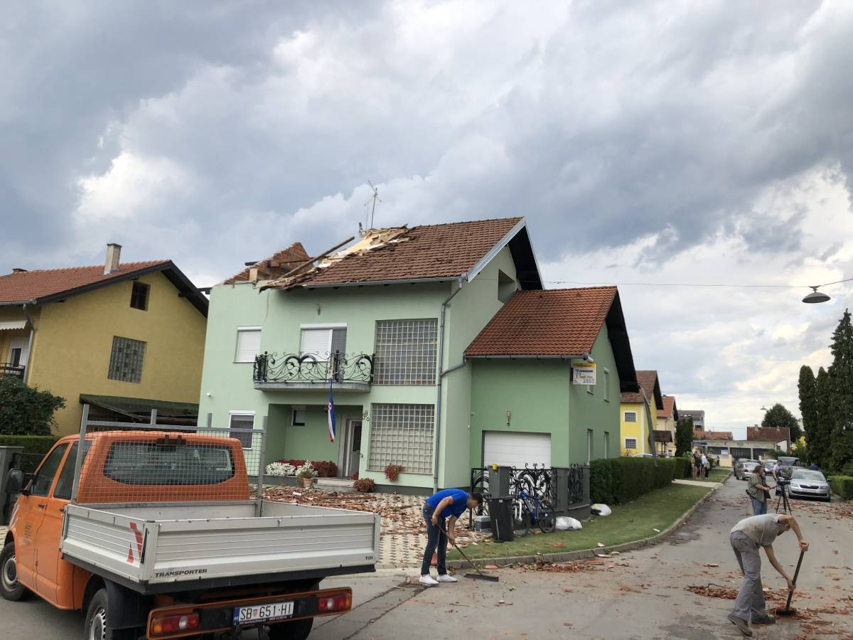 UPRAVO: Na području Slavonskog Broda i pet općina proglašena elementarna nepogoda