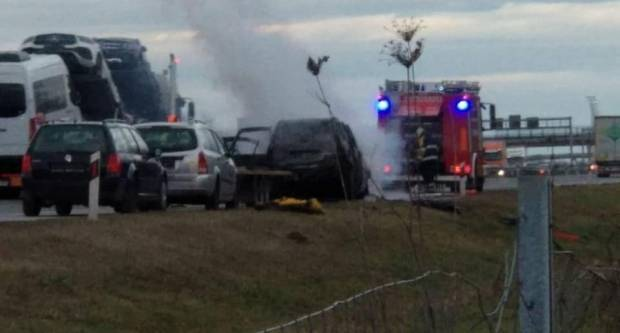 Poznat uzrok požara na automobilu