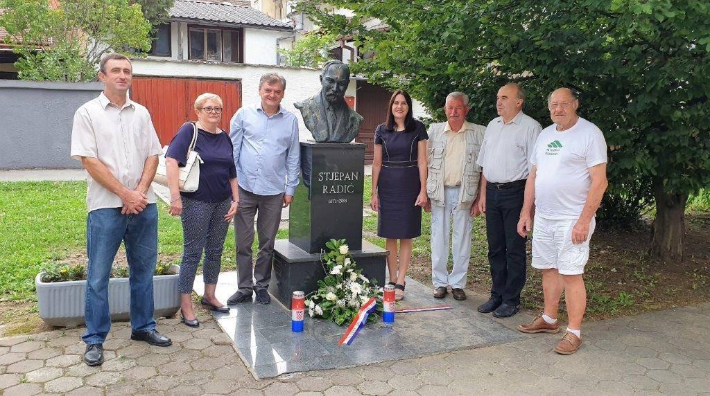 Obilježena 92. godišnjica smrti Stjepana Radića u Slavonskom Brodu