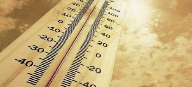 Najviša dnevna temperatura uglavnom od 30 do 33 °C
