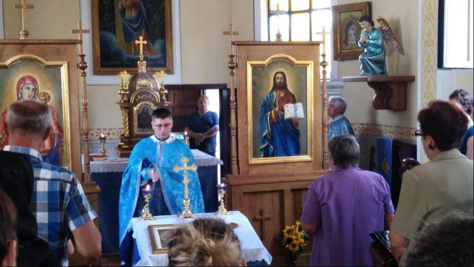 Proslava Uznesenja Presvete Bogorodice u grkokatoličkoj župi