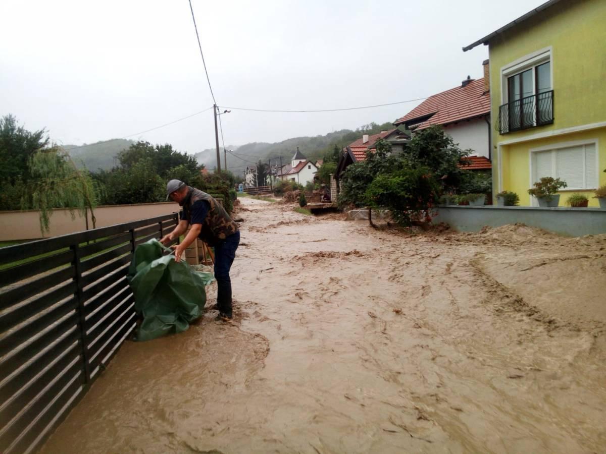 Grad Požega je jučer proglasio elementarnu nepogodu zbog poplava prošli tjedan