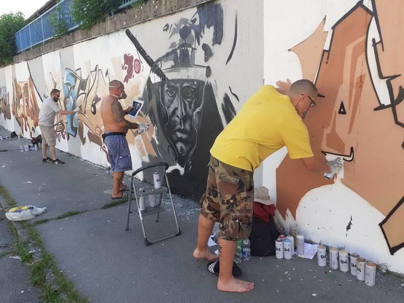 Slavonski Brod i ove godine mjesto okupljanja talentiranih grafitera