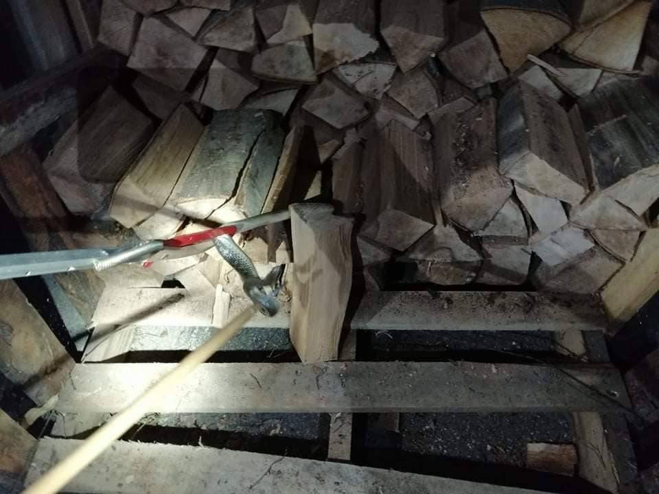 Slavonski vatrogasci su sinoć imali nesvakidašnju intervenciju