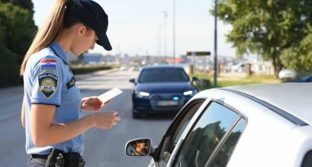 Policija u dva dana evidentirala 150 prometnih prekršaja