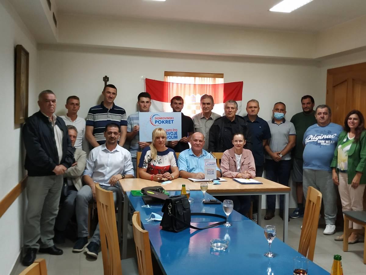 U Pleternici održana Izborna skupština Domovinskog Pokreta: Među gostima i Ivan Penava