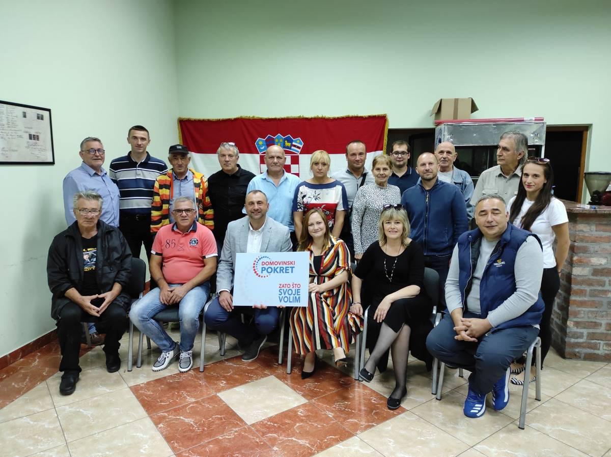 U Lipiku održana Izborna skupština Domovinskog pokreta: Gost Ivan Penava