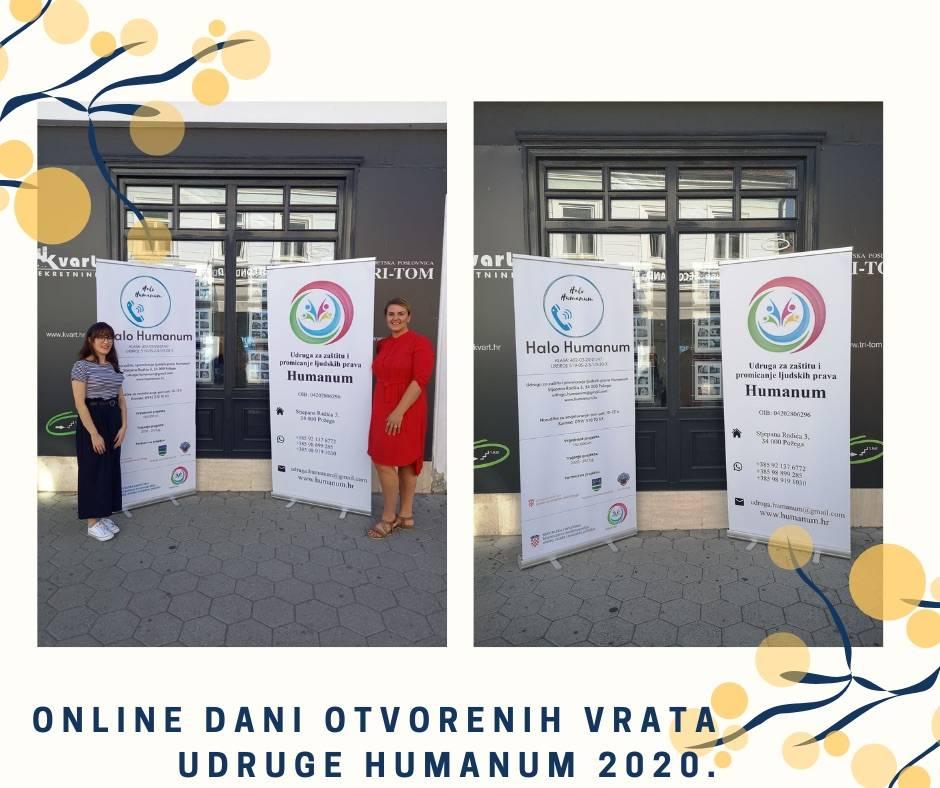 Online Dani otvorenih vrata udruga 2020.