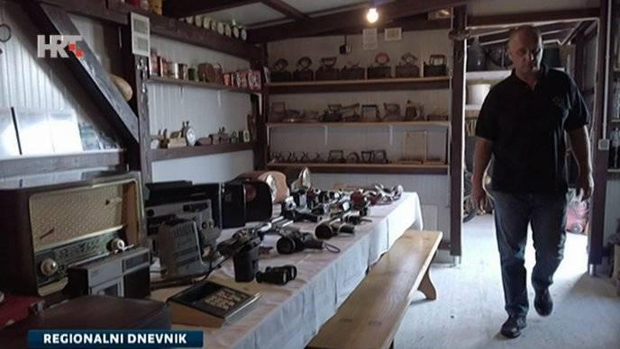 Branitelj iz okolice Slavonskog Broda posjeduje sat star 80 godine, i mnoge druge zanimljive stvari