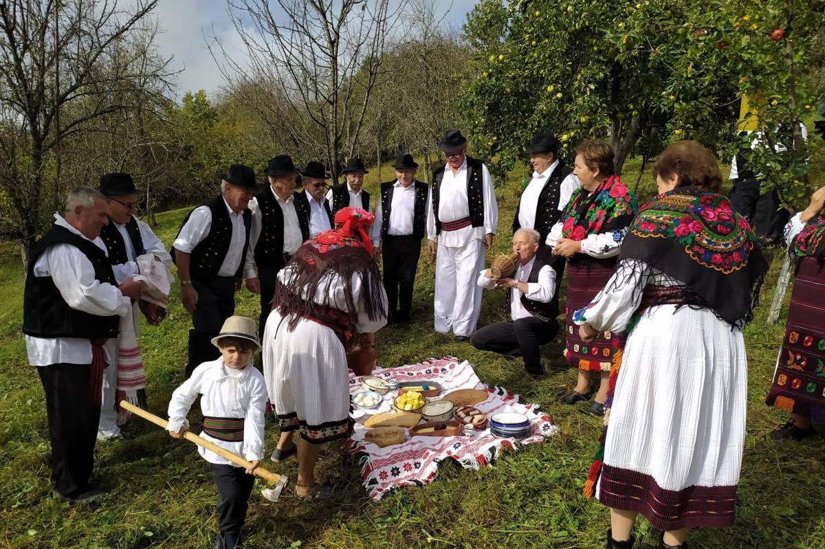 Prikaz narodnog običaja kosidbe