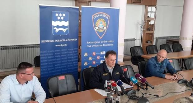Novi podaci Stožera civilne zaštite Brodsko-posavske županije