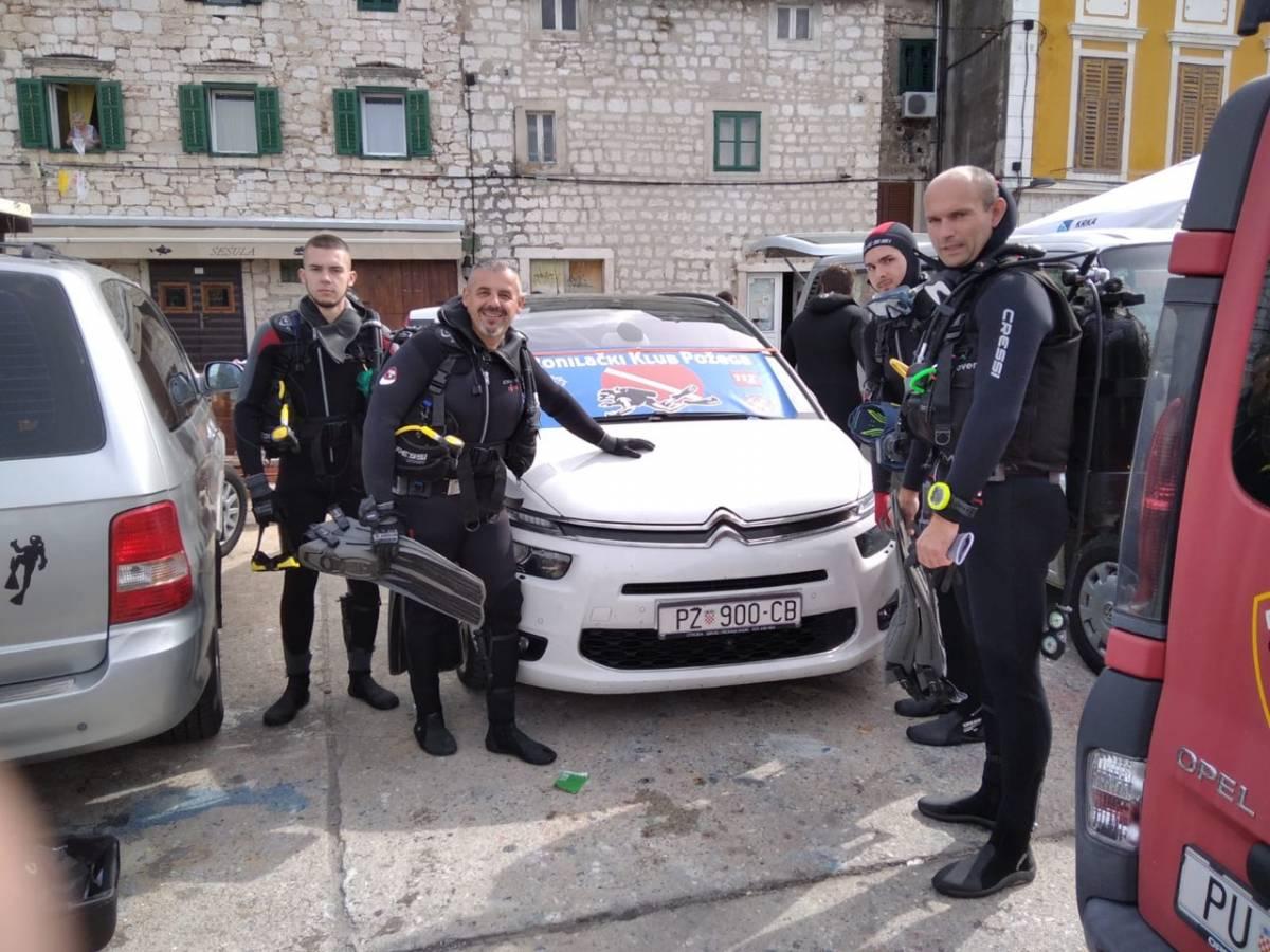 Članovi Ronilačkog kluba Požega sudjelovali na akciji čišćenja podmorja u Šibeniku