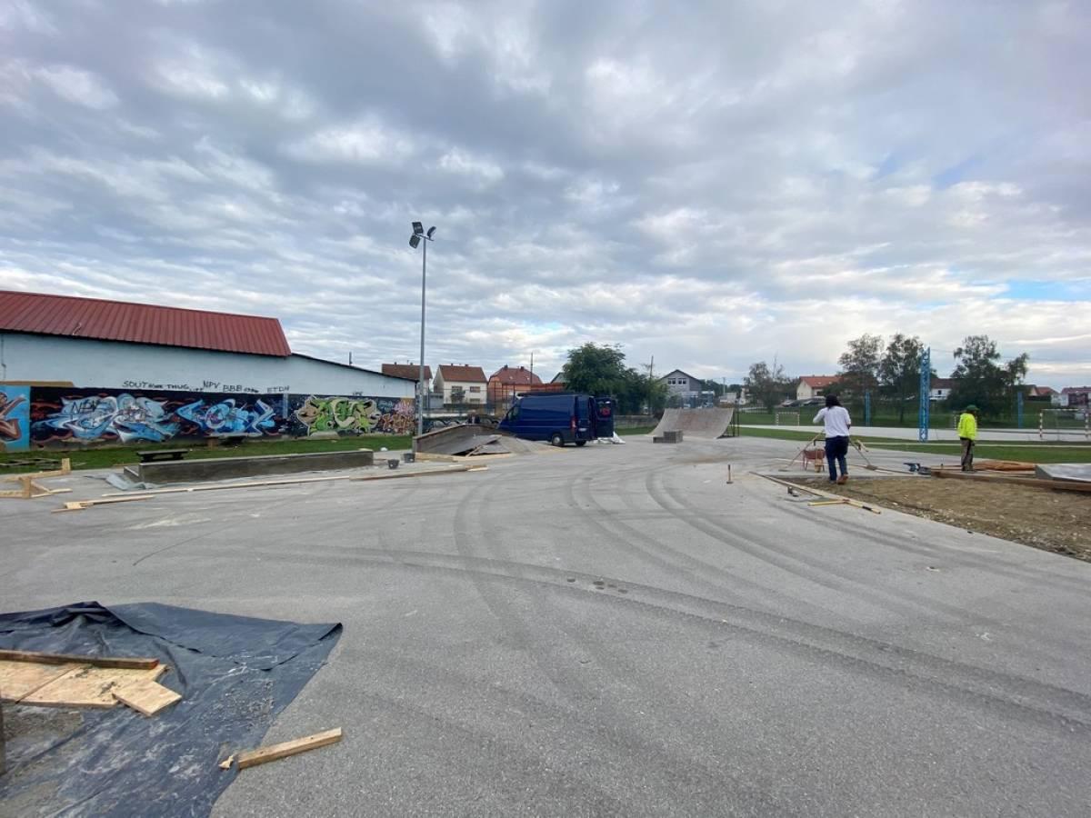 U Požegi se obnavlja Skate park u sklopu  Sportsko - rekreacijskog centra