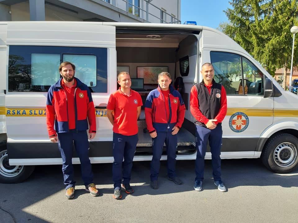 Danas je prezentirano novo zapovjedno vozilo HGSS stanice Požega