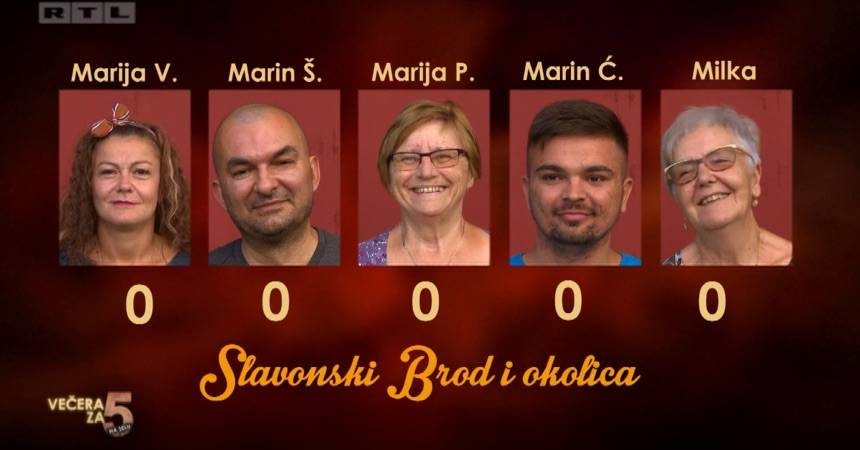 ʺVečera za 5 na seluʺ ovaj se tjedan preselila u Slavonski Brod i okolicu