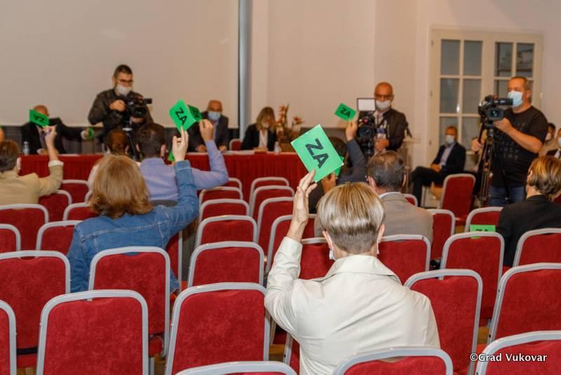 Održana 33. sjednica Gradskoga vijeća Grada Vukovara