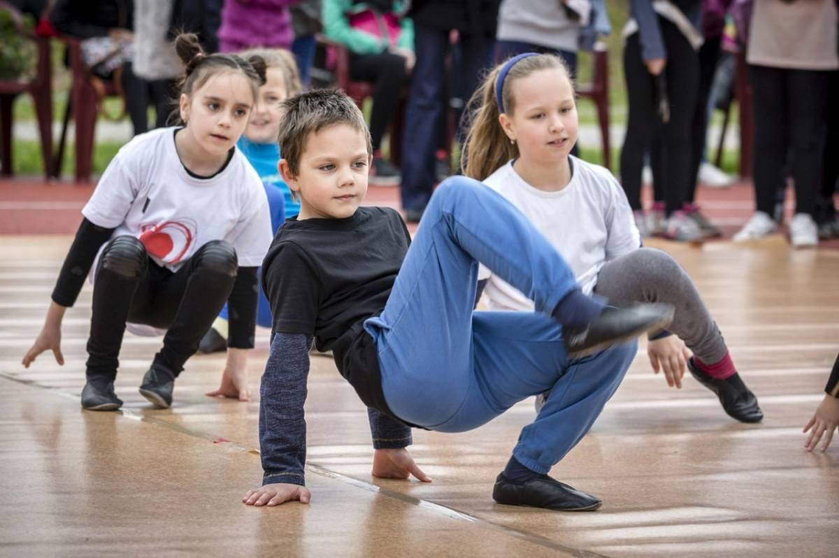 Najava radionice kreativnog plesa u sklopu dječjeg tjedna
