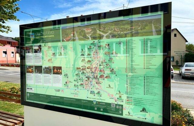 U Kutjevu postavljena Turistička info karta
