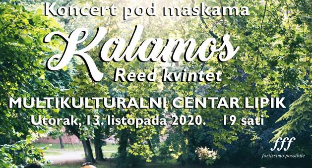 Dođite u Lipik 13. listopada na koncert ʺKalamosʺ