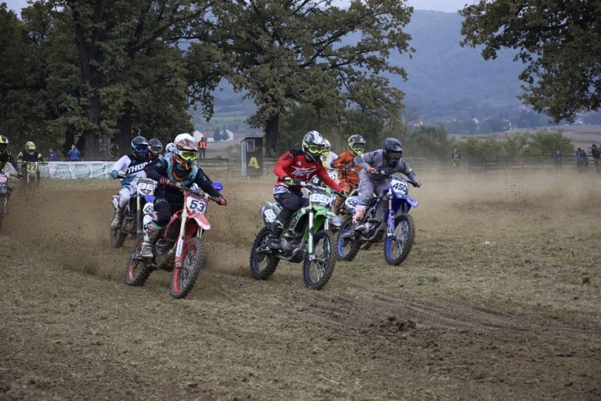 Otvoreno prvenstvo Hrvatske u motocrossu, Jaroš završio na trećem mjestu