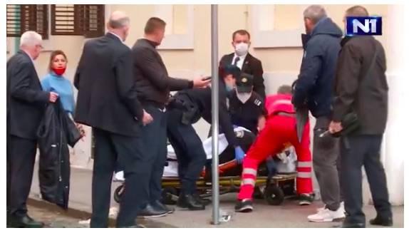 Jutros je pred Vladom upucan policajac, počinitelj se navodno ubio