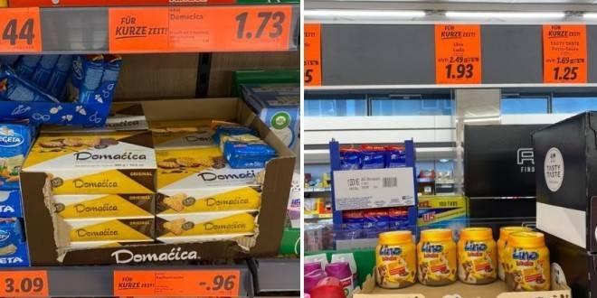 Poznati hrvatski proizvodi poput Lino lade i Domaćice su jeftiniji u njemačkim trgovinama