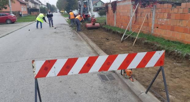 Započela izgradnja pješačko-biciklističke staze u brodskoj ulici