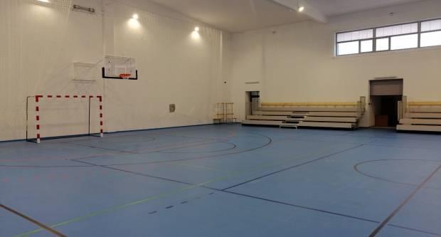 Fotogalerija nove prekrasne dvorane Cesarićeve škole u Požegi