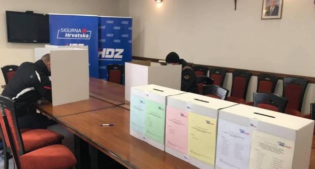 Rezultati unutarstranačkih izbora HDZ-a u GO Požega