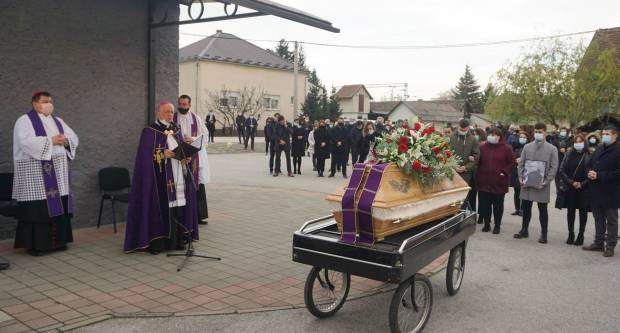 Sprovod svećenika Branka Gelemanovića