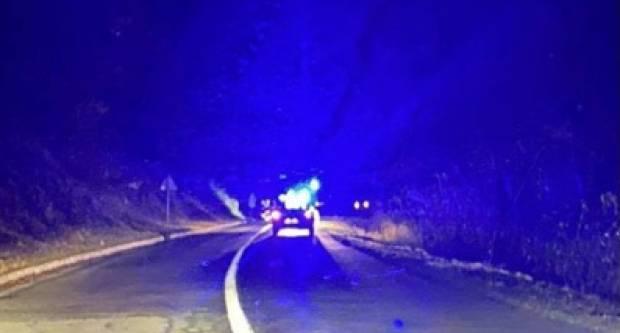 Kod Kutjeva izgorio kombi u vožnji, vozač se spasio u zadnji trenutak