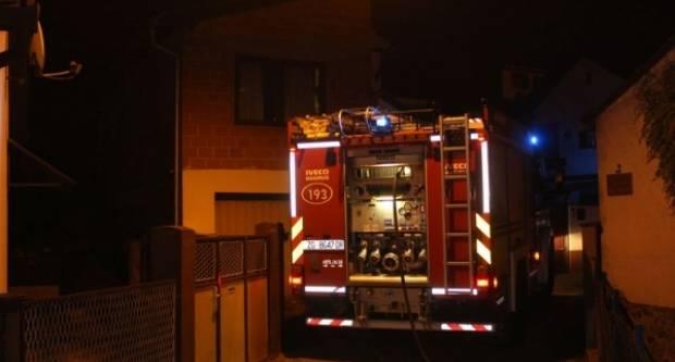 Požar na obiteljskoj kući u Požegi i pronalazak mina