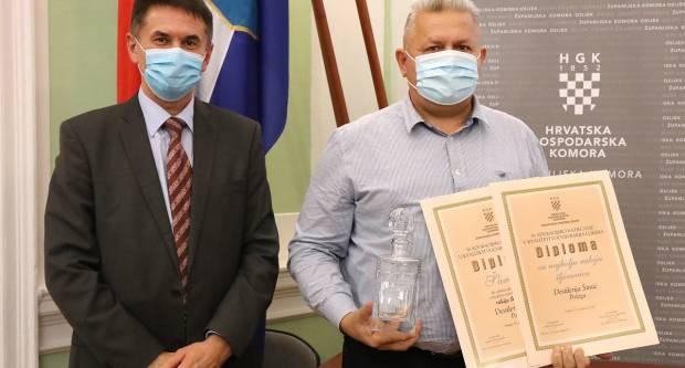 Destilarija Šimić iz Požege ukupni je pobjednik 16. edukacijskog natjecanja u kvaliteti voćnih rakija i likera