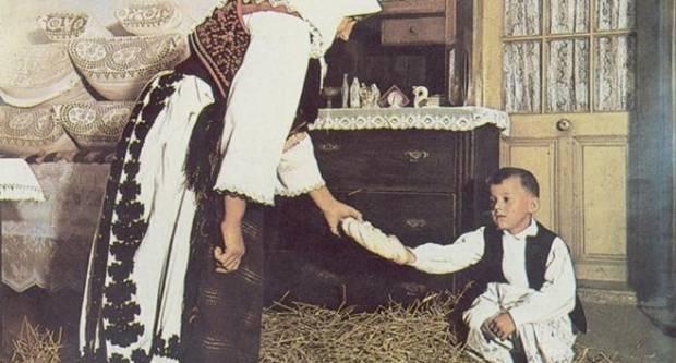 Slavonski običaji na Badnjak