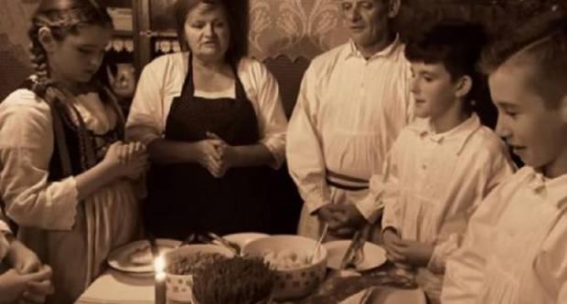 Stari Slavonski običaji na Badnjak