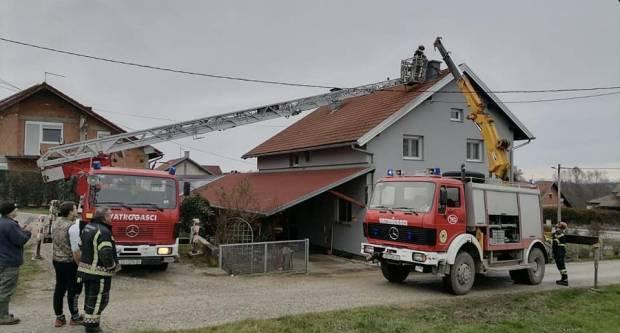 602 vatrogasne intervencije na području Sisačko-moslavačke županije