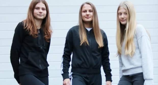 Helena, Martina i Ana su nogometašice iz Pakraca u 1. ŽNL: ʺObožavamo nogomet, želimo jednom i u inozemstvo!ʺ