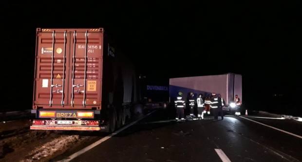Sudar dva kamiona. Mediji: U pitanju je velika materijalna šteta