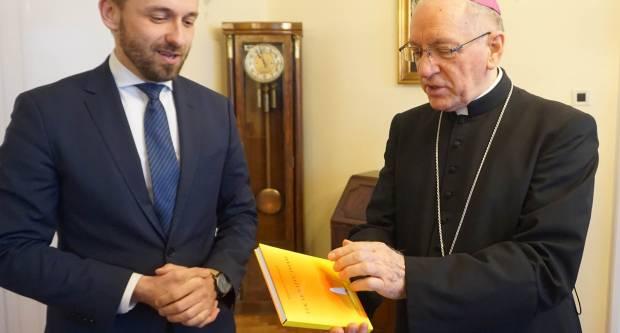 Biskup primio gradonačelnika Novske