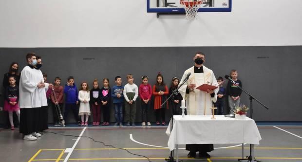 Blagoslovno slavlje u požeškim katoličkim školama