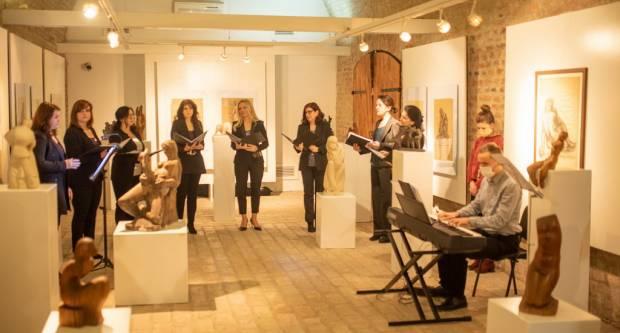 Otvorena izložba akademskog kipara Ranka Stajića