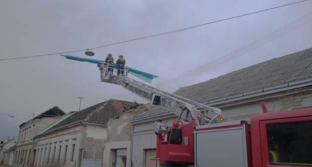 10615 vatrogaca angažirano na saniranju posljedica potresa