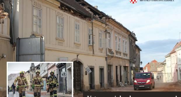 Hrvatska vatrogasna zajednica zahvaljuje vatrogascima