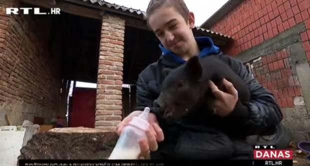 12-godišnji Slavonac sam brine o farmi s više od 100 životinja