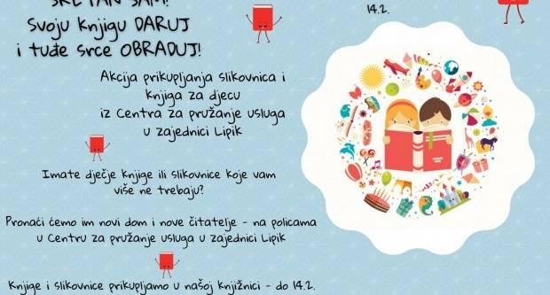 Pridružite se akciji prikupljanja slikovnica i knjiga za djecu iz lipičkog Dječjeg doma
