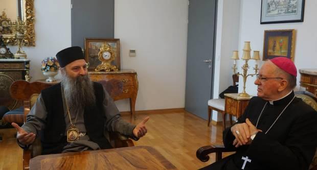 Biskup Škvorčević čestitao novoizabranom srpskom patrijarhu