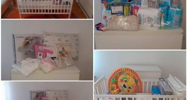 Novih pet obitelji dobilo opremu za prvorođenče