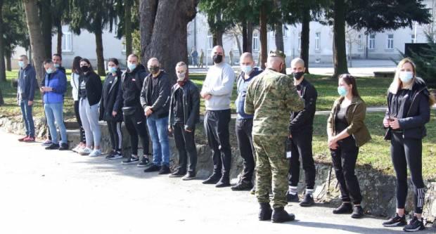 U Požegi započelo dragovoljno vojno osposobljavanje 29. naraštaja ročnika