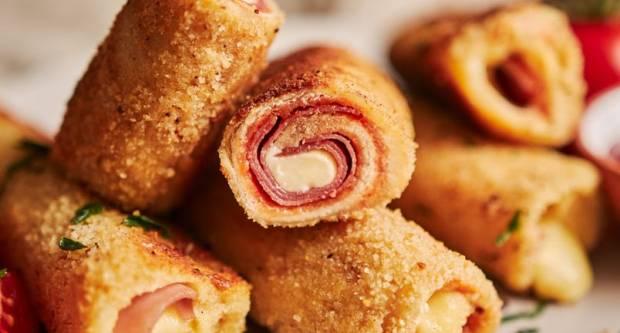 Recept za pohane rolane sendviče sa sirom i šunkom