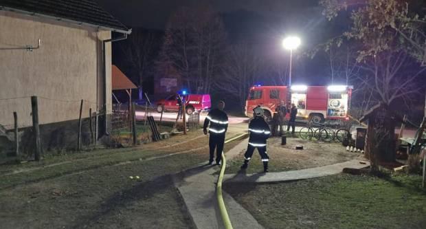 Sinoć izbio požar, na terenu bilo 11 vatrogasaca